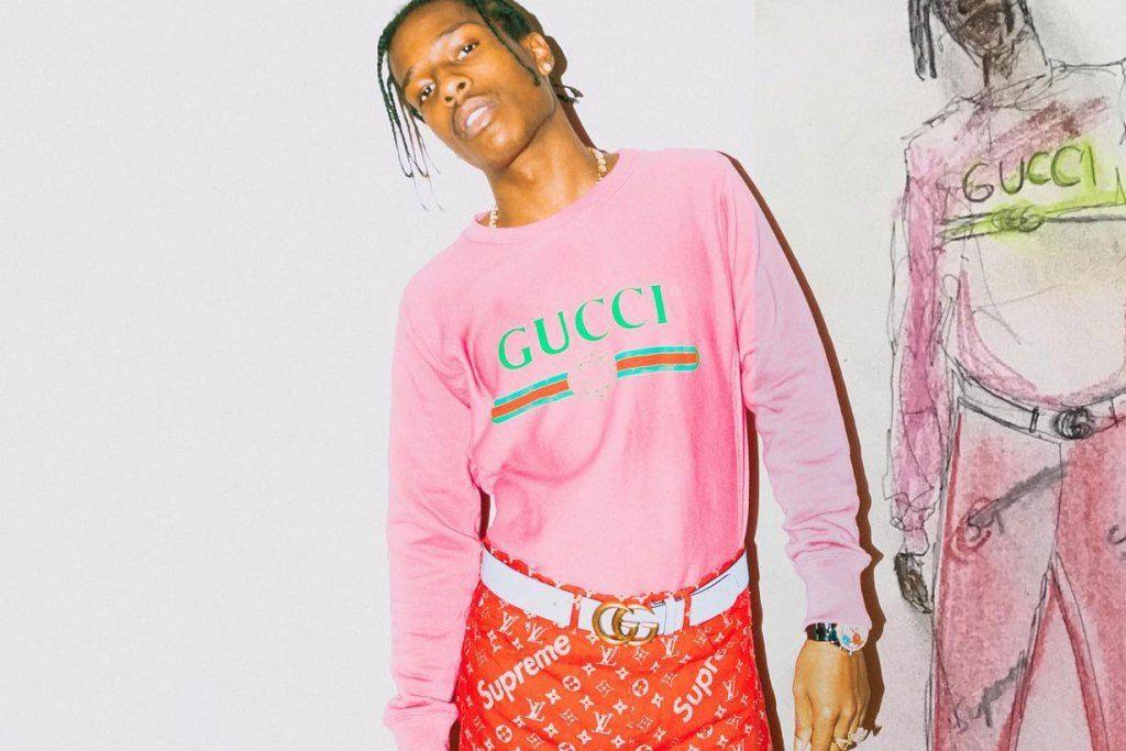 エイサップ・ロッキーが Supreme x Louis Vuitton 未発表コラボパンツを着用 | HYPEBEAST