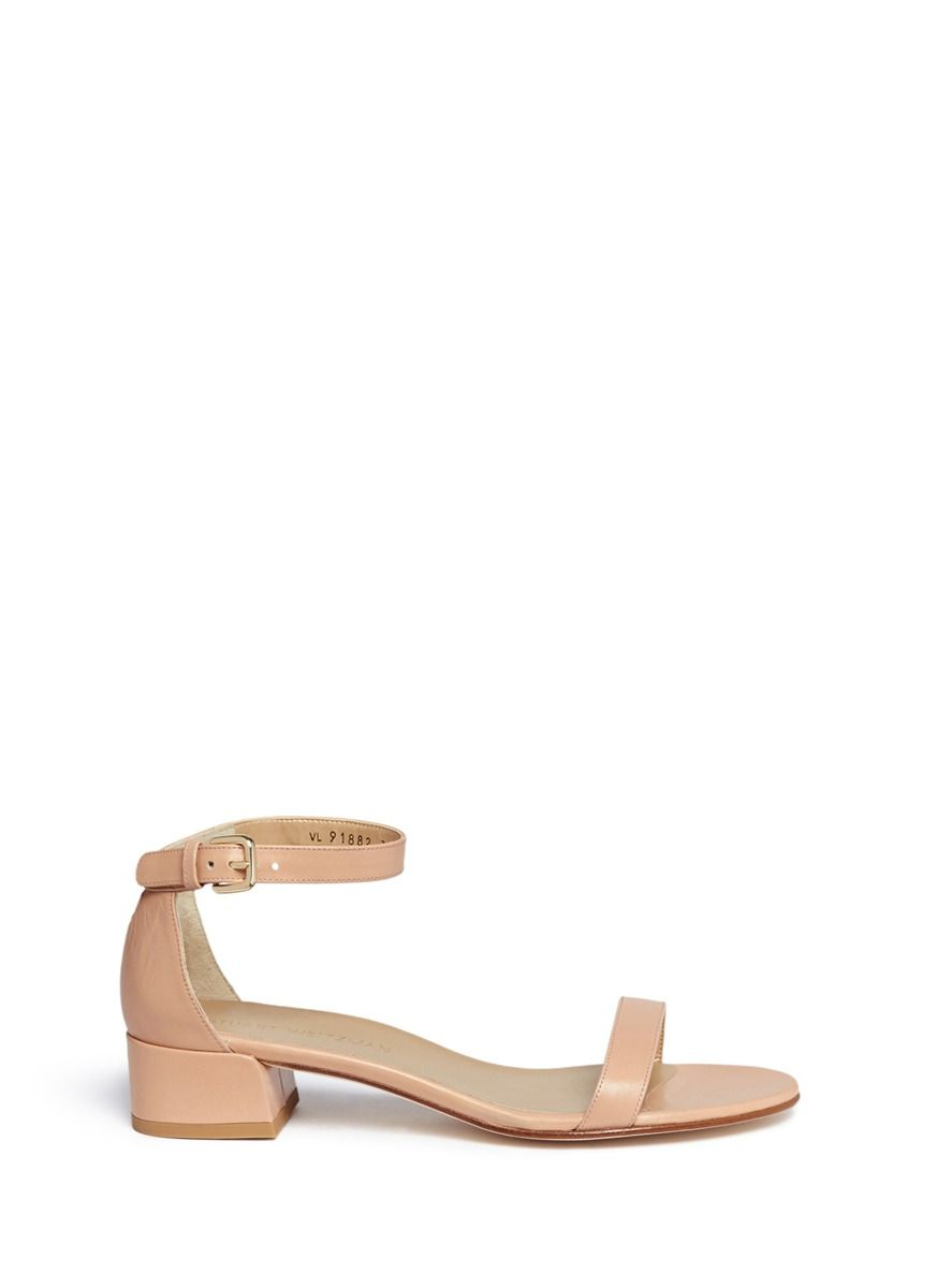 c68f6ff0b27cf Stuart Weitzman -  nudist June  Leather Sandals