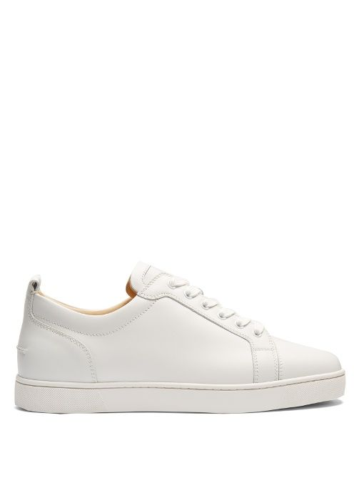 new arrival 65124 9de90 Christian Louboutin Louis Junior low-top leather trainers ...