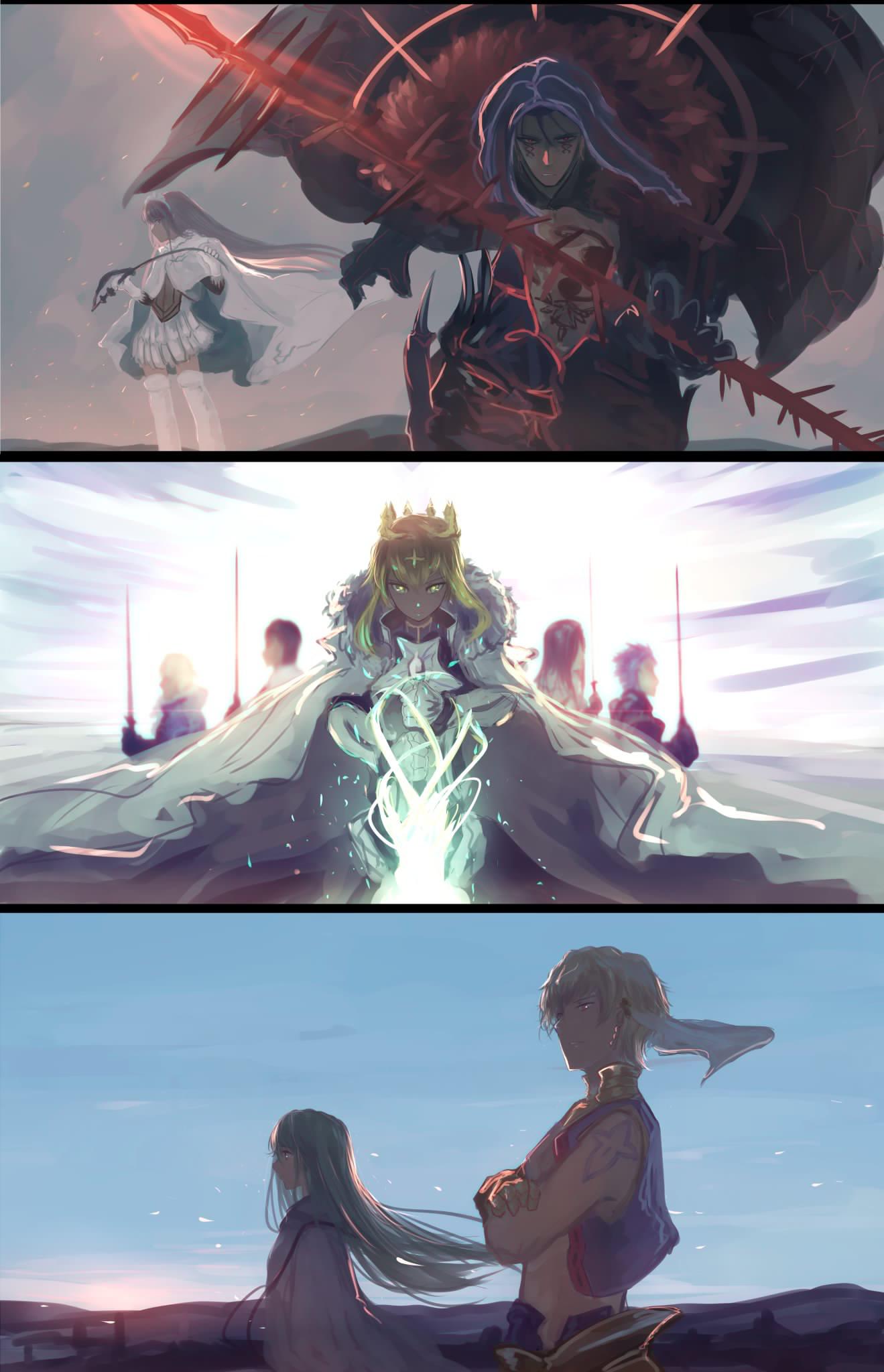 Fate/Grand Order    America/Jerusalem, Camelot, Babylonia