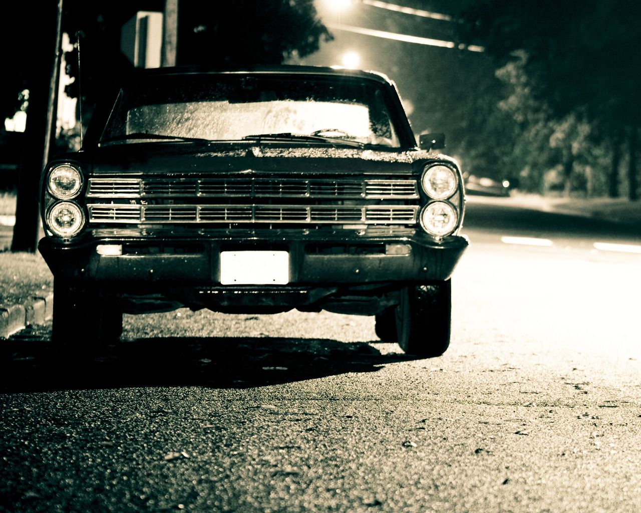 Ford Galaxie Old Car HD Wallpapers
