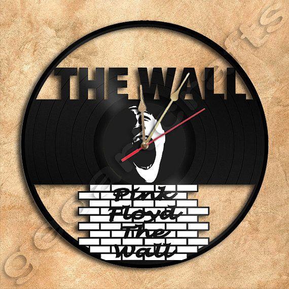 Wanduhr Pink Floyd die Wand Design Vinyl Rekord von geoartcrafts - wanddesign