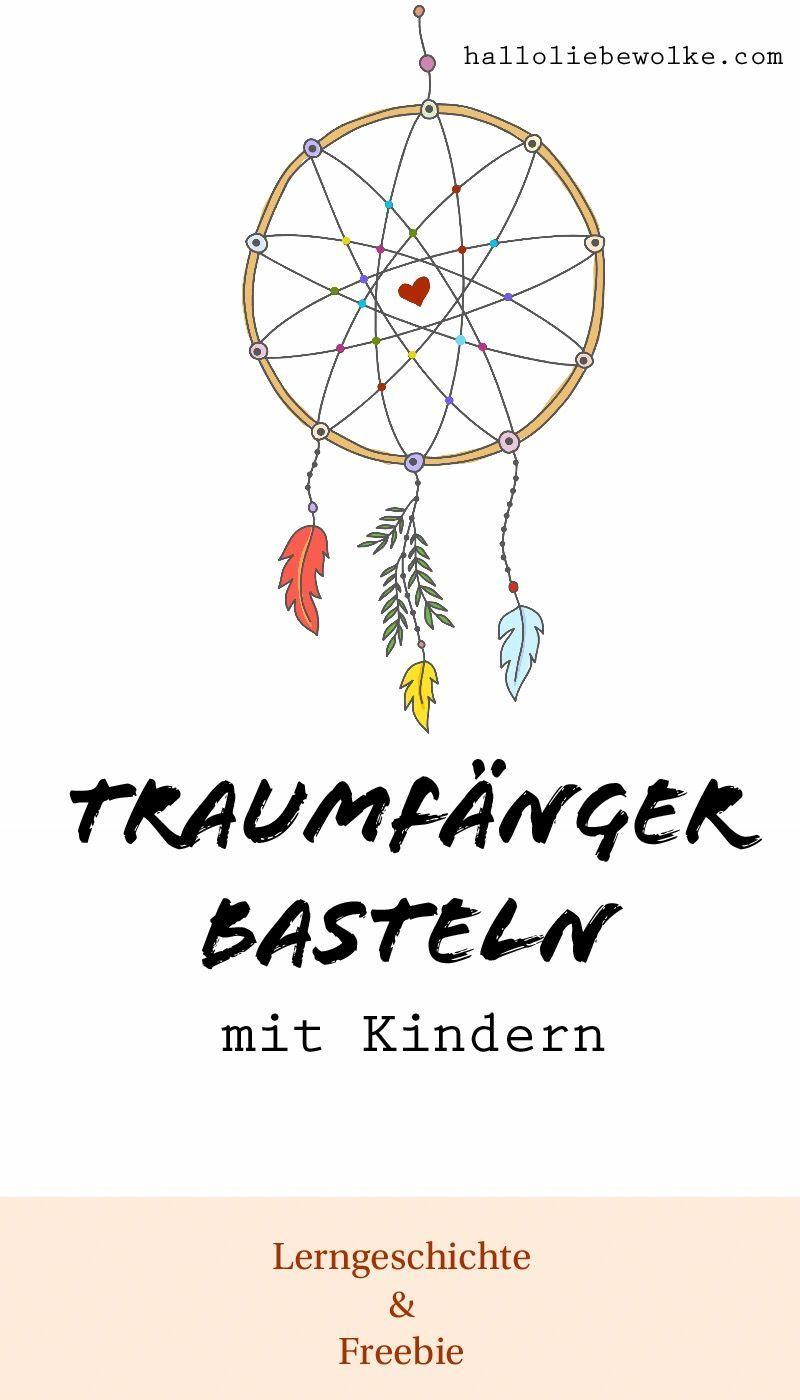 """Prinzessin Blaublüte und der böse Traum. (Geschichte für Kinder """"Natur und Umwelt"""" – mit DIY Traumfänger) • Hallo liebe Wolke"""