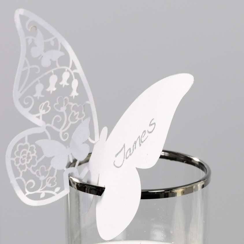 Farfalle Segnaposto Matrimonio.Segnaposto Fai Da Te Con Immagini Segnaposti Matrimonio