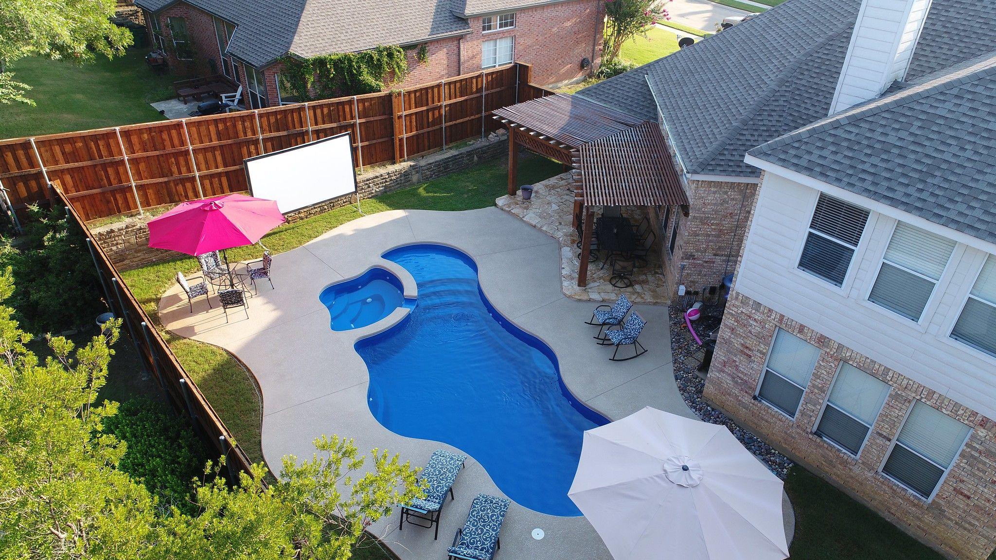 Cancun Deluxe Pool Spa Combo From Aquamarine Pools Aquapools Com Spa Pool Swimming Pools Pool