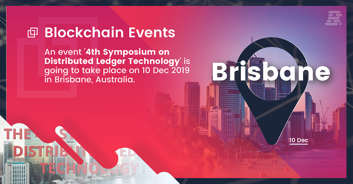 An event '4th Symposium on Distributed Ledger Technology