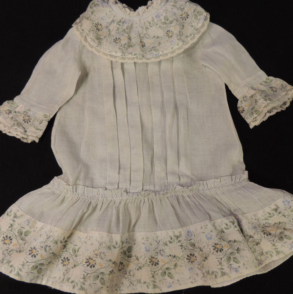Bru Size 6 Antique French Doll Dress