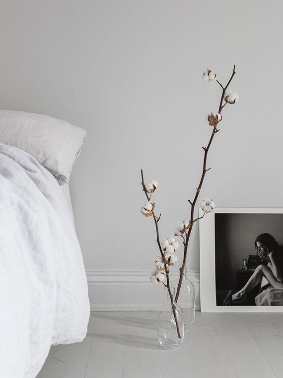 Decorating With Cotton Branches Interieur Home Decor Decoratie