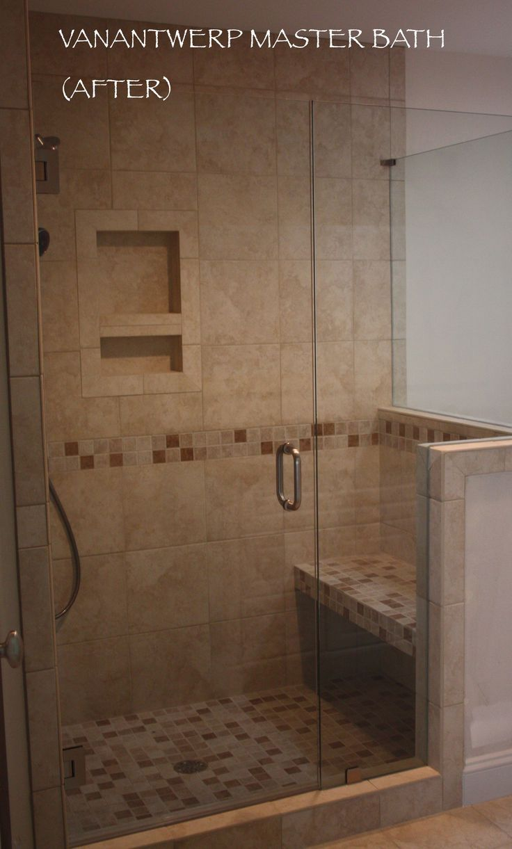 Master bathroom shower only - Image Result For Creme And Brown Master Bathroom With Walk