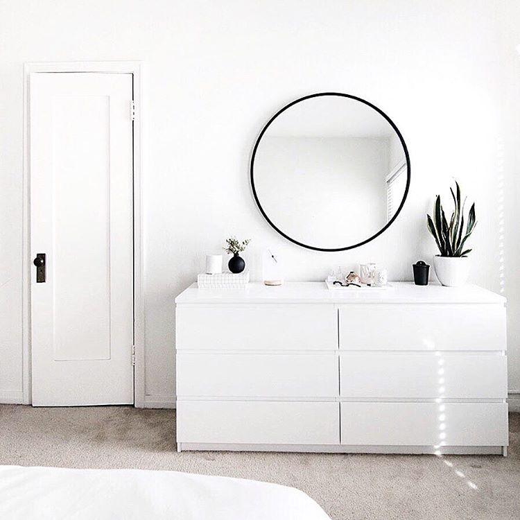 Pingl par st phane sur miroir chambre commode miroir miroir chambre et miroir rond - Commode miroir ikea ...