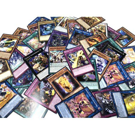 Super Ultra Secrets All Holos YUGIOH 50 Card Holographic Foil Collection Lot
