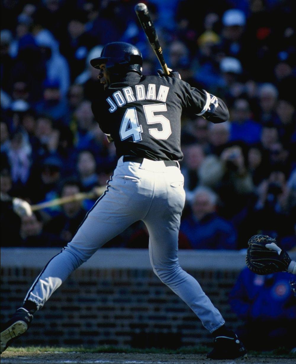 newest 54c9a 12829 Michael Jordan Baseball | 45s | Michael jordan photos ...