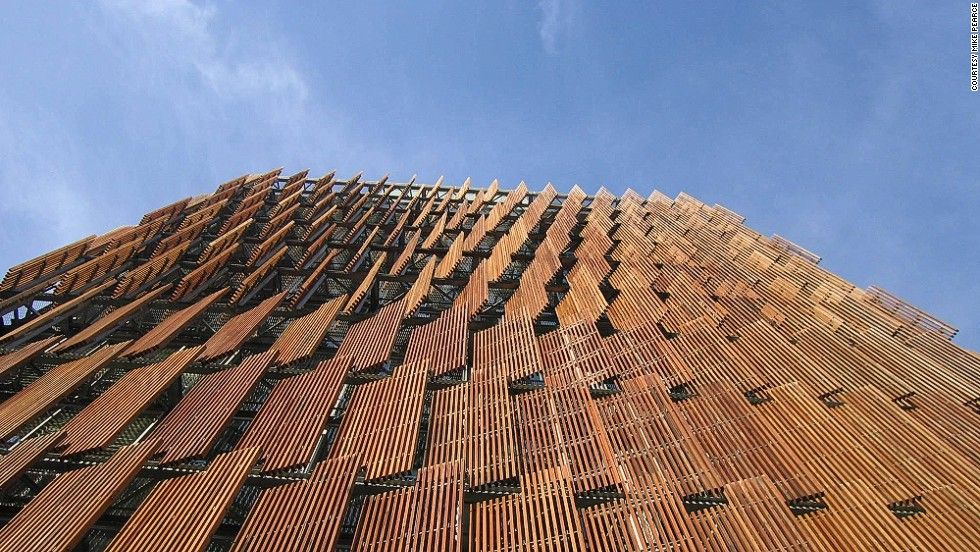 Zimbabwean architect Mick Pearce often uses nature as inspiration for his designs. When conceiving the cooling system for CH2, a mixed-use building he designed in Melbourne, Australia, he was inspired by the way termites ventilate their nests.