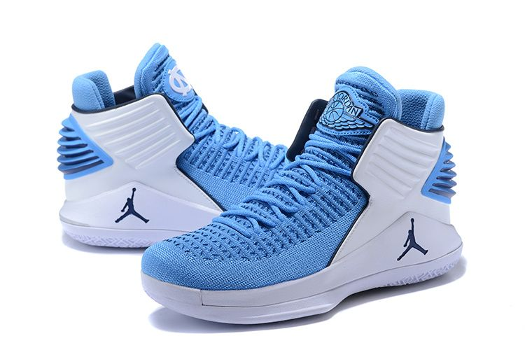 fb6c7ab01ecfb8 2018 March Sale Cheap Air Jordan 32 UNC Tar Heels PEs North Carolina Blue