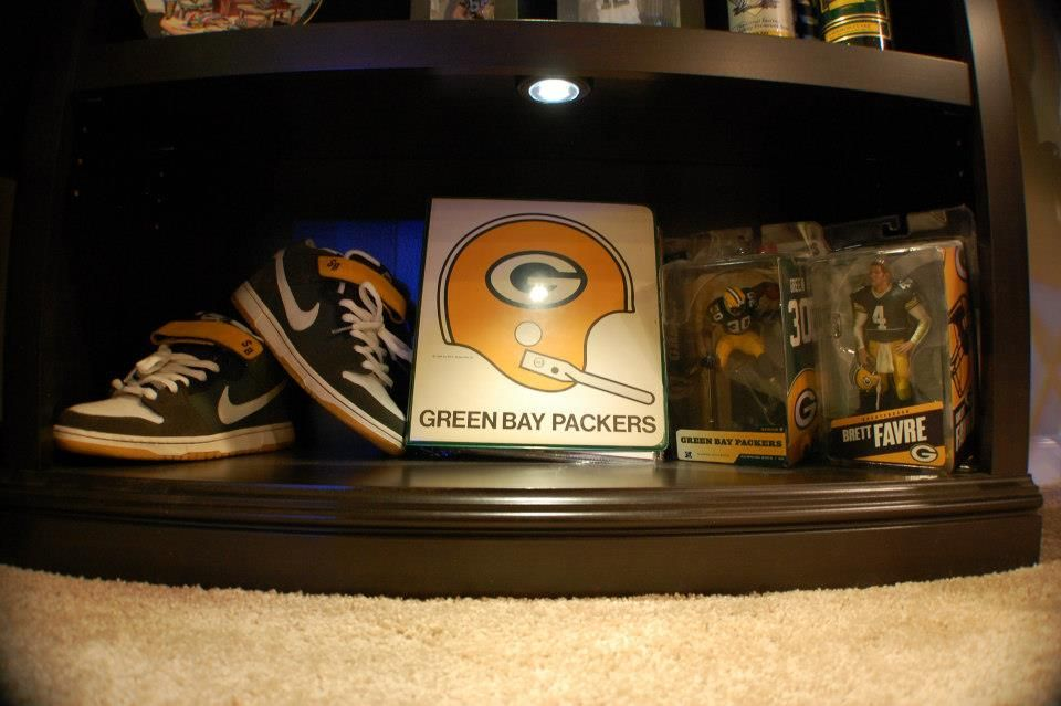 Packer Man Cave Signs : New nfl green bay packers real neon light beer bar pub sign