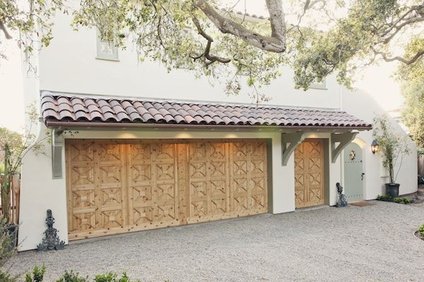 Spanish colonial garage doors az custom garage door for Colonial garage
