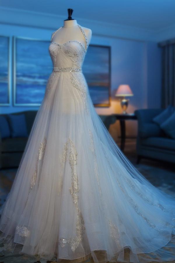 Stunning Abed Mahfouz Wedding Dresses 2013 Modwedding 06 14