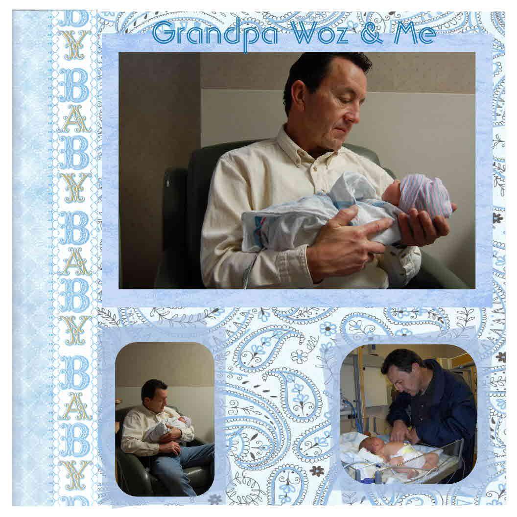 Grandpa and Me - Scrapjazz.com