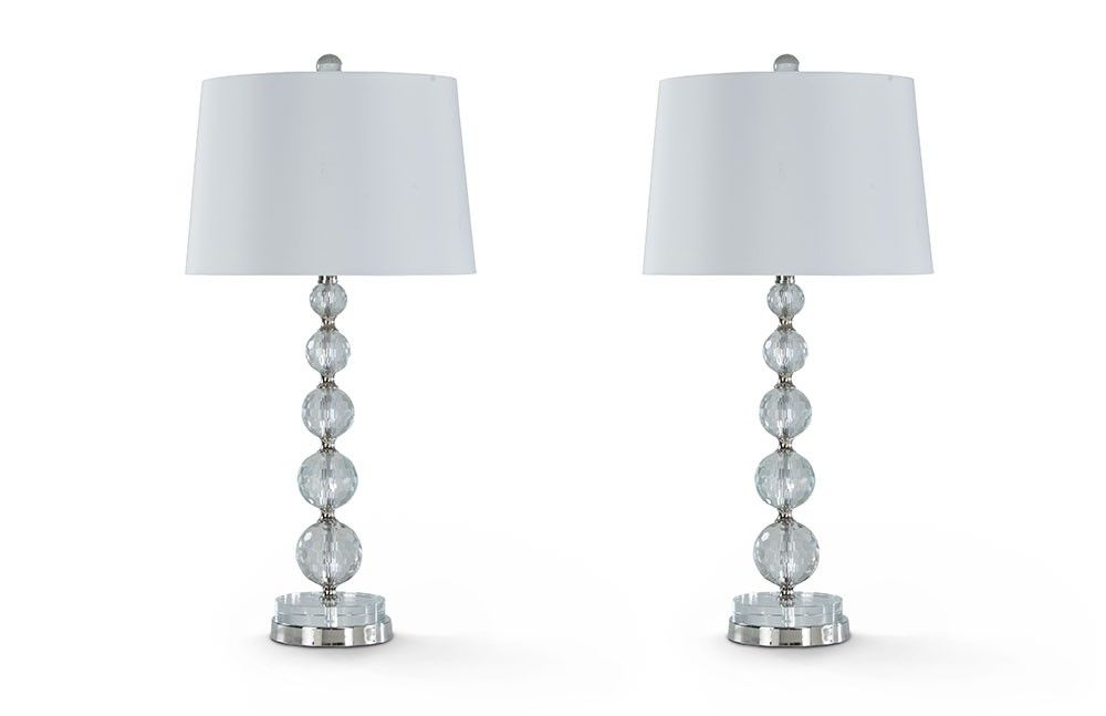 Set Of 2 Posh Lamps Lamps Home Accents Bob S Discount