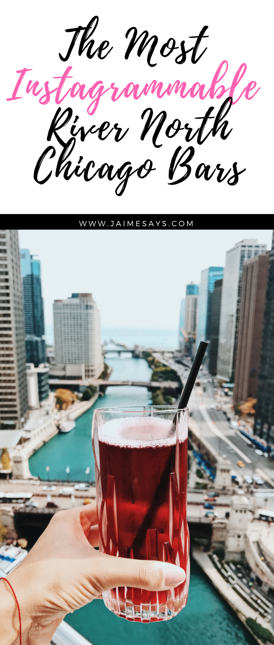 The most instagrammable River North Chicago bars | These are the most picturesque and photo worthy River North Chicago bars | Rooftops and indoor spaces, these River North Chicago bars are worth a visit on your next trip to #Chicago #Illinois USA