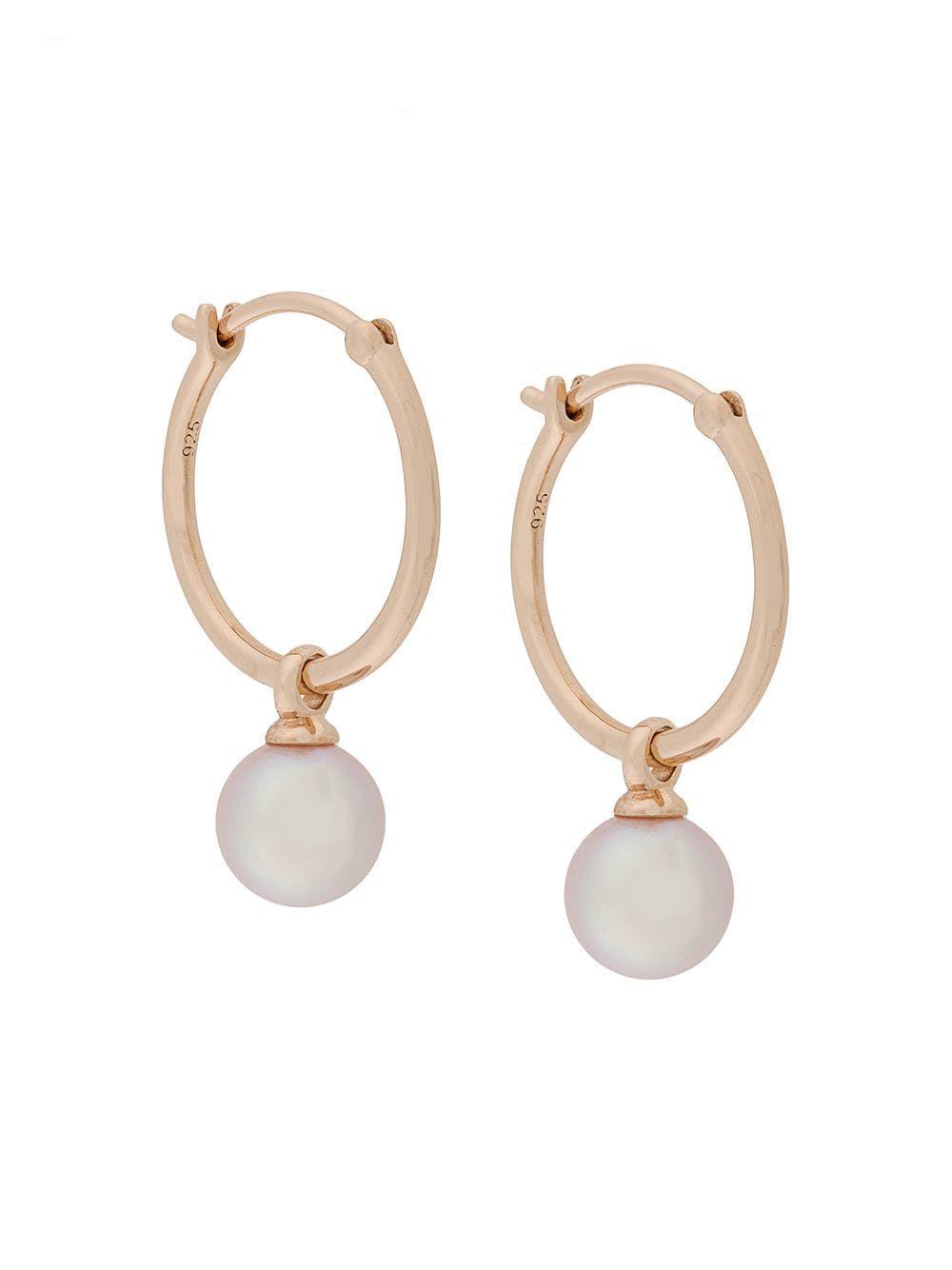 36830e0af2f03 Astley Clarke Vera drop hoop earrings - Metallic | Products in 2019 ...
