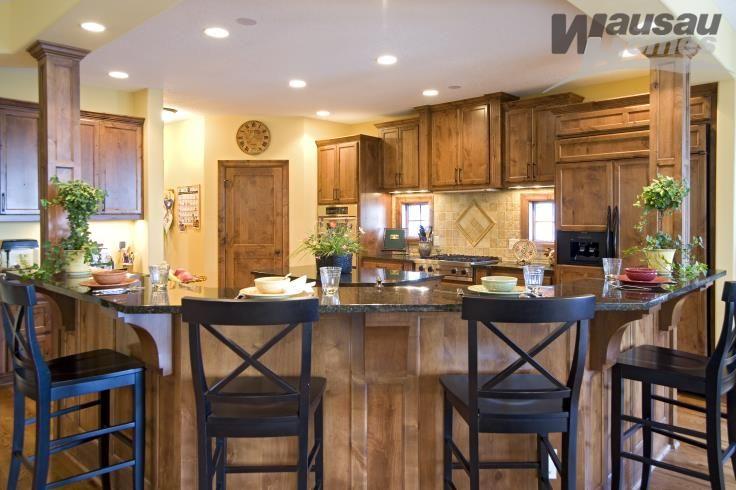 Warm Cozy Kitchen Kitchen Ideas In 2019 Wausau Homes New