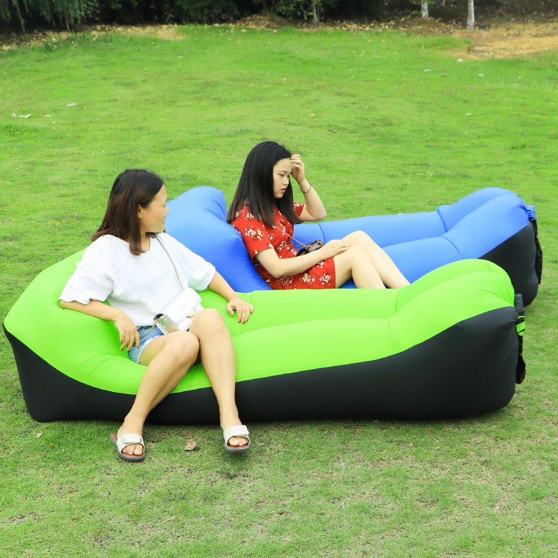 Terrific Air Sleeping Bag Lazy Chair Inflatable Lounge Airbeds Beach Pabps2019 Chair Design Images Pabps2019Com