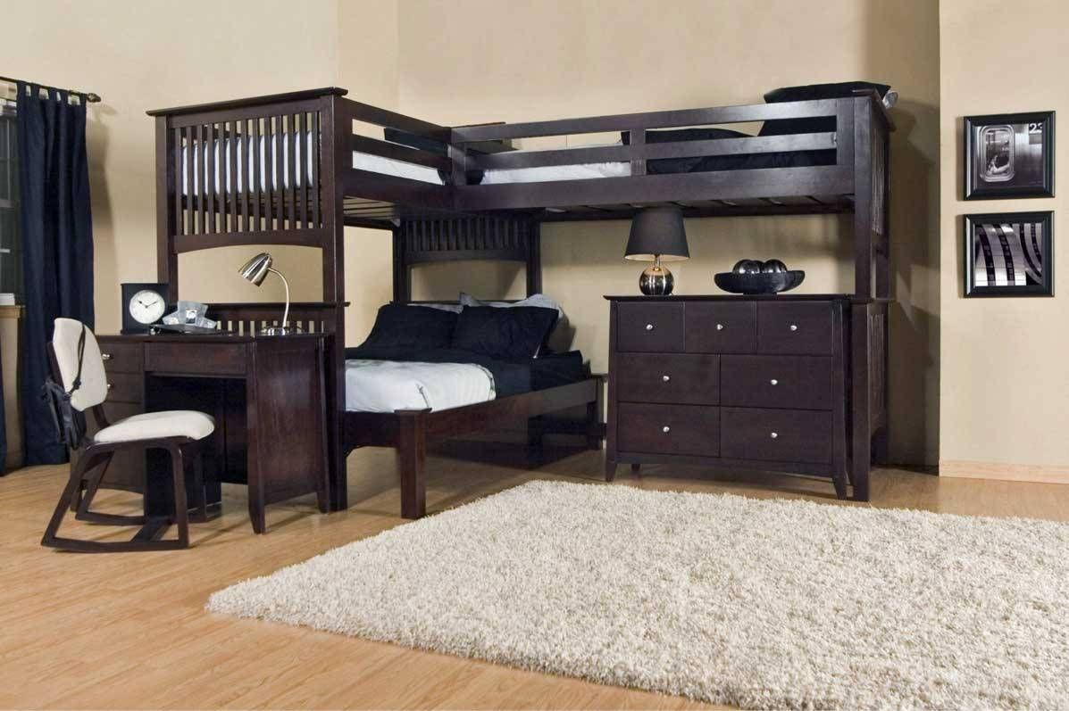 Loft bed plans full size  Pin by Jenifer Dun on Bedroom Ideas Inspiration  Pinterest  Bunk