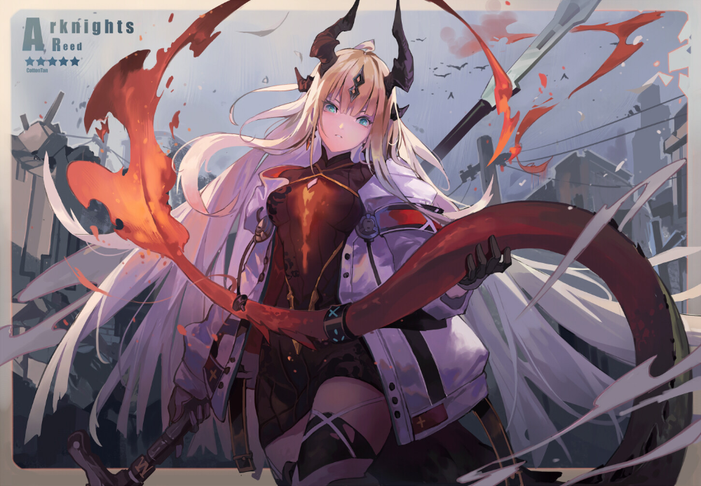 Photo of things I did for fun when playing Arknights, Cot Tan