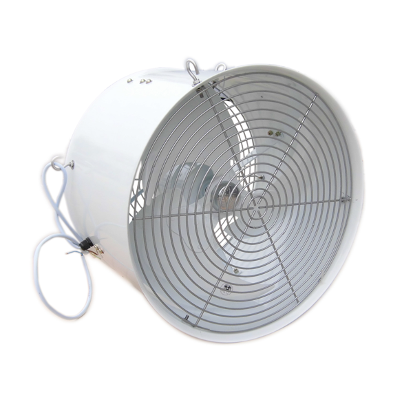 Air Circulation Fan Galvanised And Powder Coated For Longer Life The Aluminium Blade Supplies A Big Air Flow Up To 45m Distance Single Phase 220v 50hz 234w Fan Speed 1 400rpm Air Flow 5 500m Hr 3 240cfm