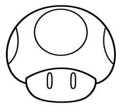 50 desenhos moldes e riscos de cogumelo para colorir pintar