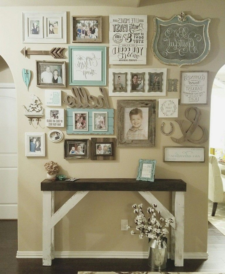 75 Awesome Wall Gallery Ideas For Perfect Wall Decor Shabby Chic Living Shabby Chic Living Room Chic Living Room