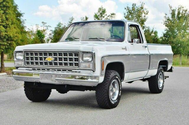 White And Gray Paint 1980s Chevy Truck Chevy Trucks Trucks