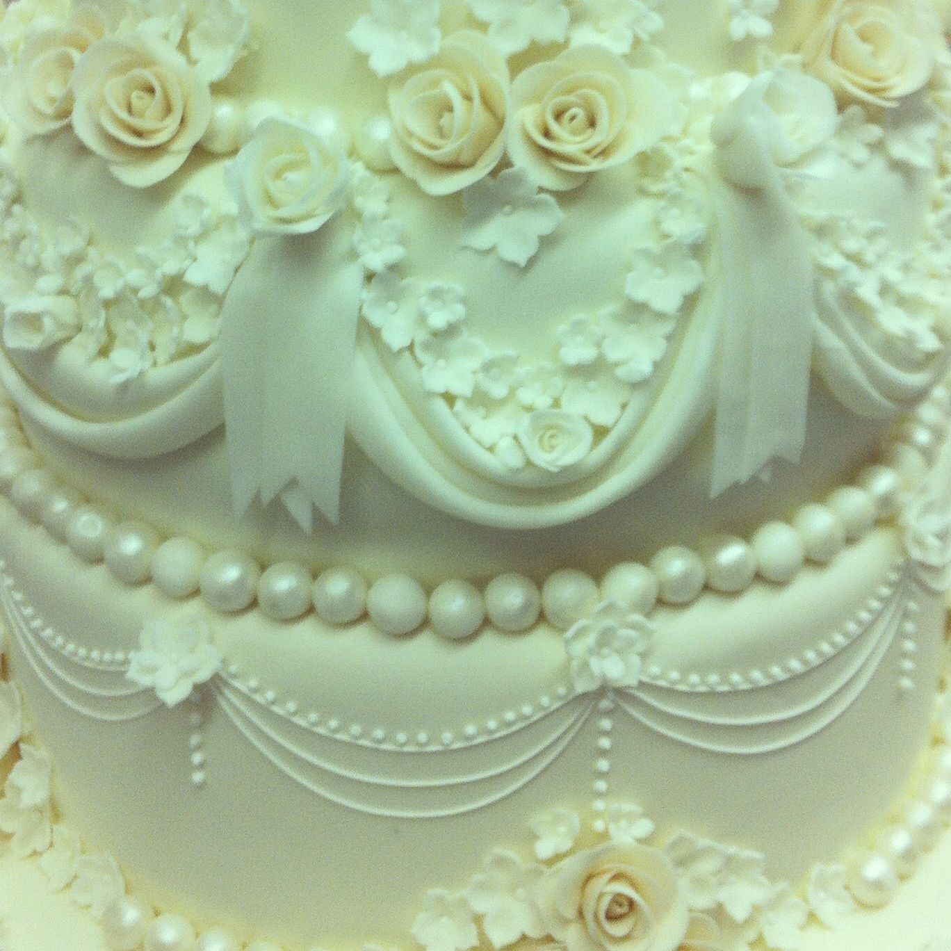 5 Tiers Wedding Cake Detail Cakedesign Weddingcake Sugarflowers