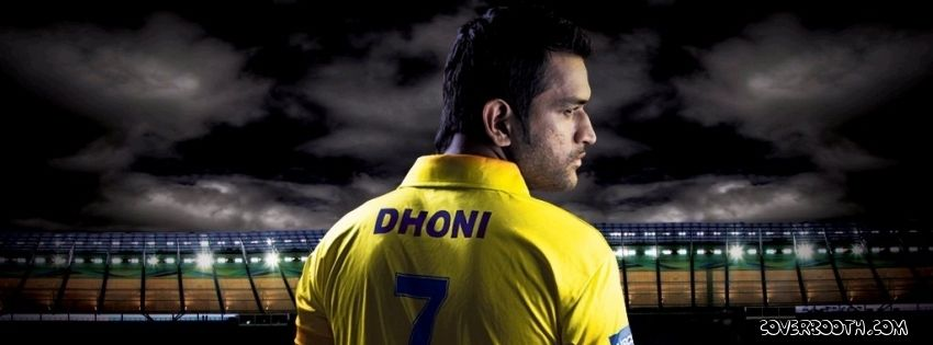 ms dhoni chennai super kings captain number 7 7in yellow