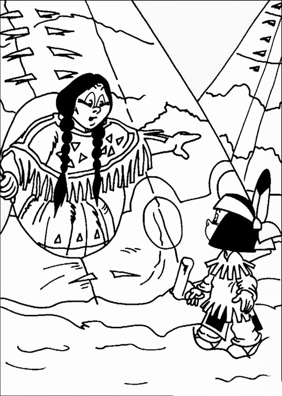 Bilder Zum Ausmalen Yakari Kleurplaat Indians Indians Culture Coloring Pictures For
