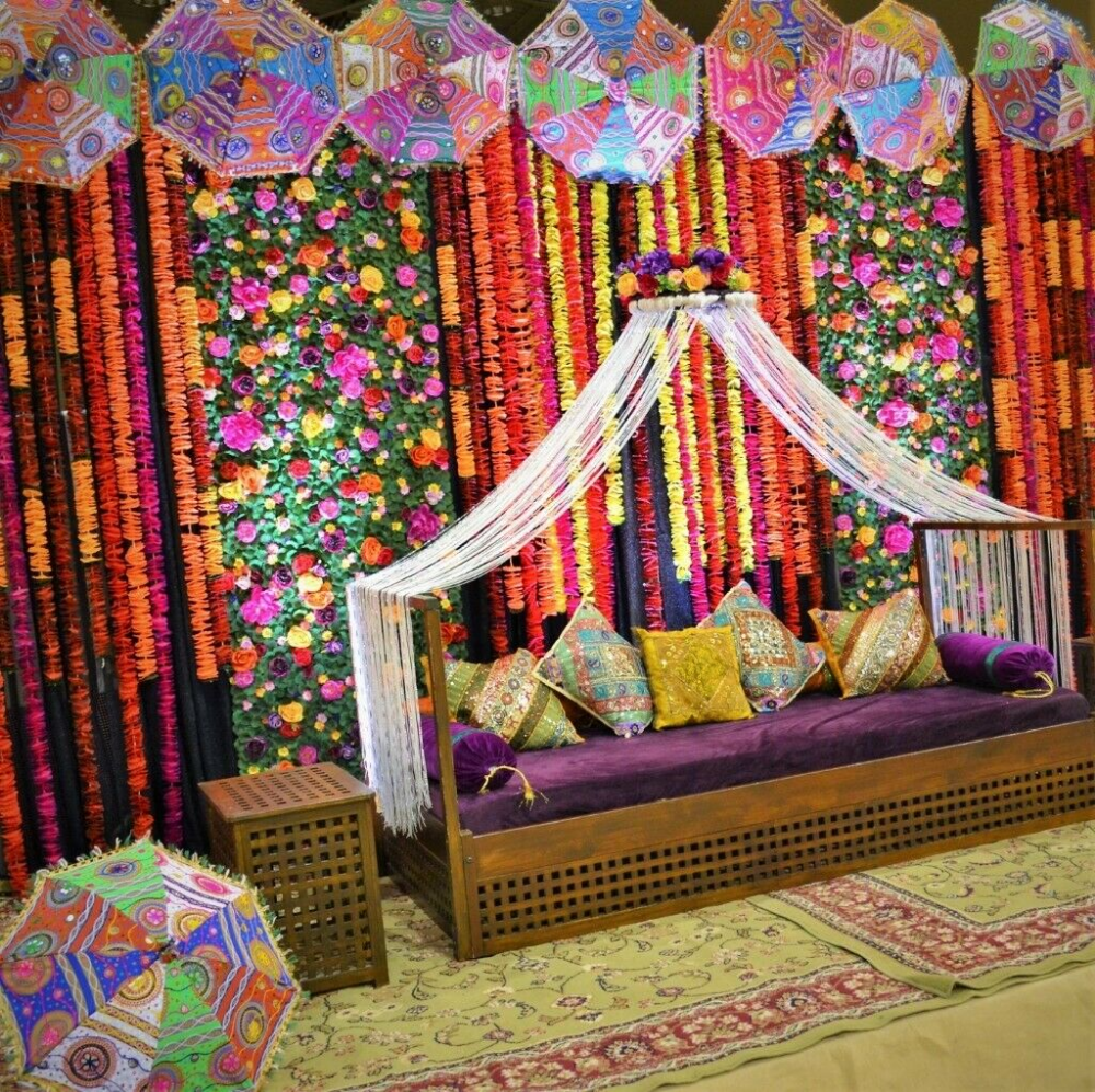 Tempting Occasions Mehndi Decorations Party Decor Mehndi Stages Moroccan Arabian Bollywood Theme Moroccan Theme Party Indian Wedding Decorations Moroccan Theme