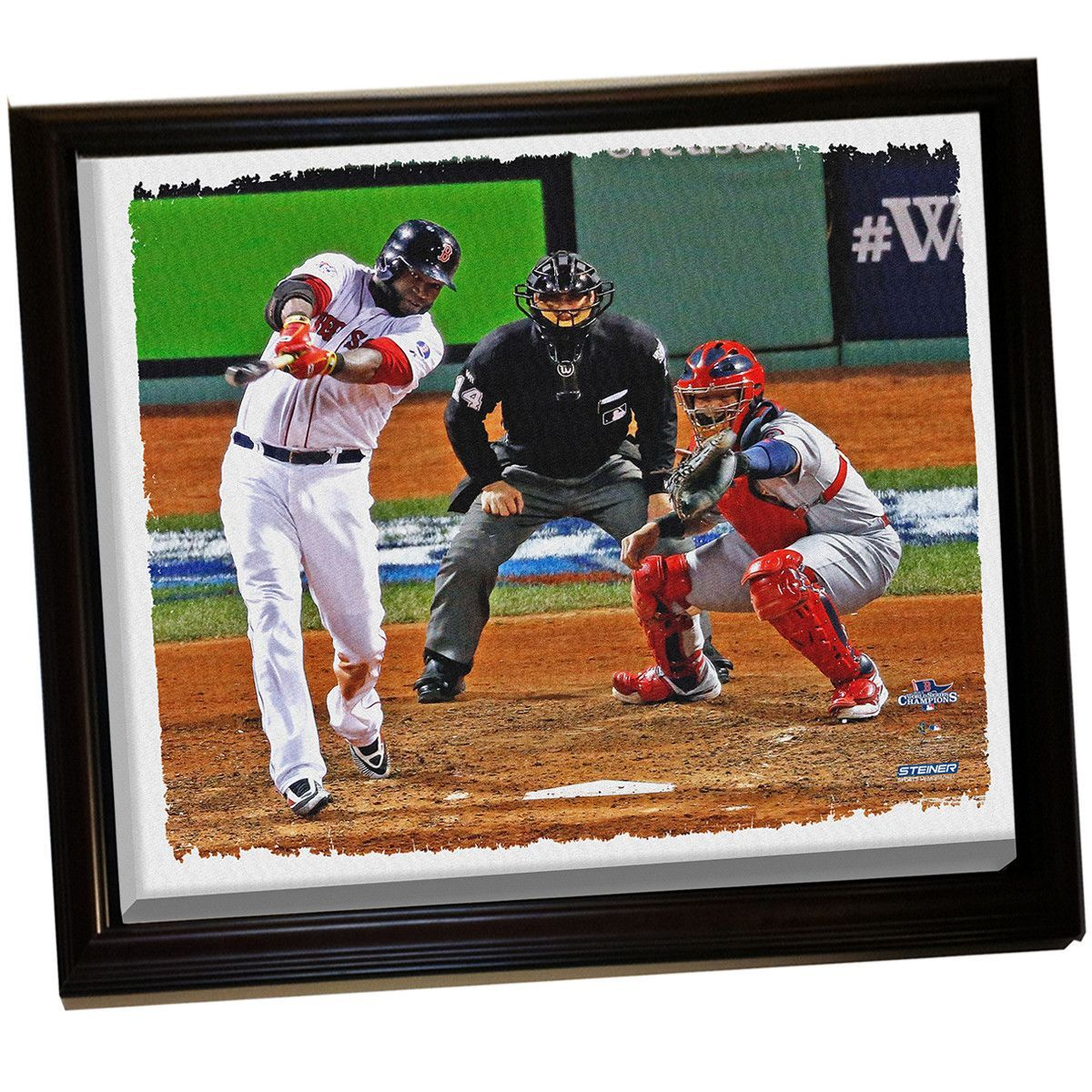 David Ortiz WS Framed Stretched 32X40 Canvas Uns | Products ...