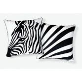 Found it at Wayfair - Naked Decor Zebra Pillow