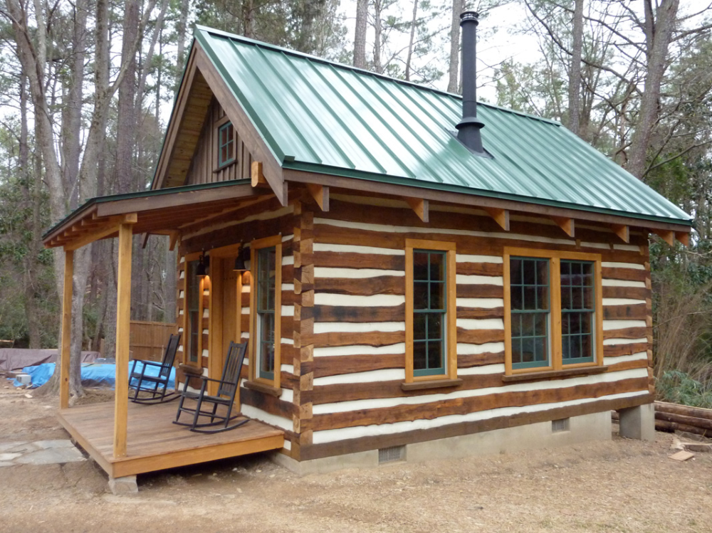 Building A Cozy Cabin Under 4 000 Small Log Cabin Plans Log Cabin Plans Small Cabin Designs