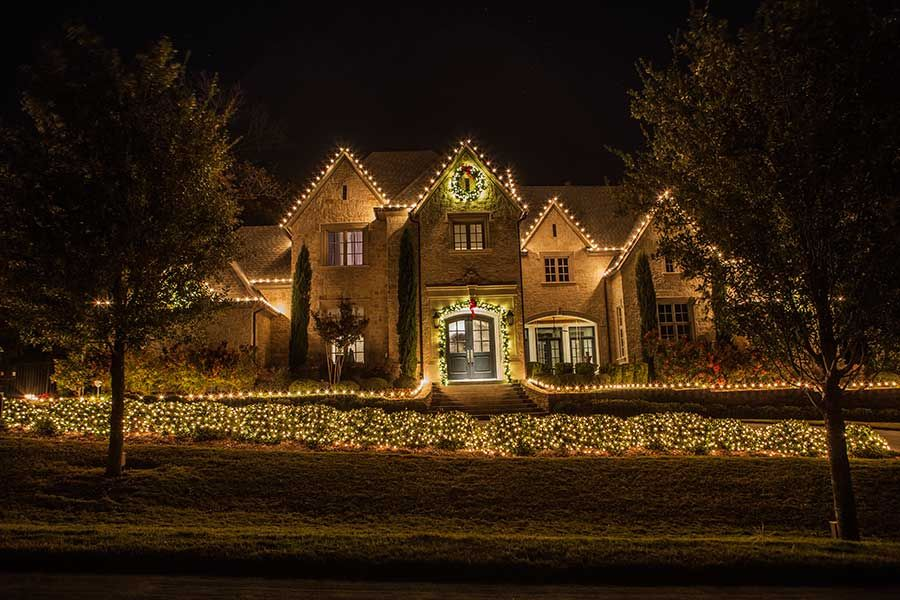 Christmas Lights Panorama The Perfect Light Dallas Outdoor Landscape Lighting Landscape Lighting Perfect Lights