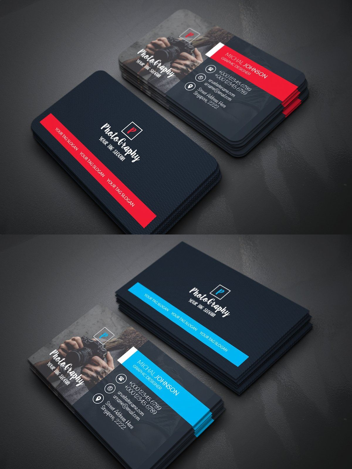 Photo Business Card Photo Business Cards Menu Card Design Business Cards