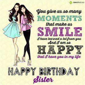 Cute Hindi Happy Birthday Sister Sms Messages Wishes Shayari