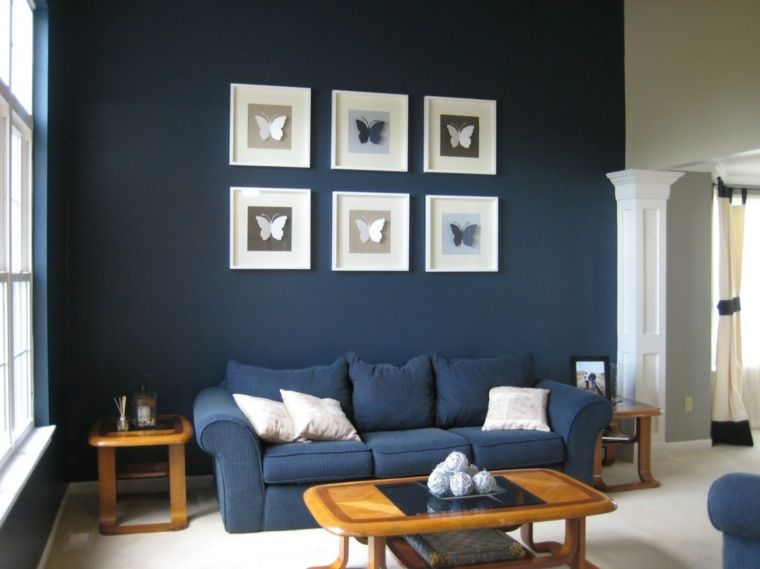 15 inspirations déco en bleu marine Joli Place | Blue decor design ...