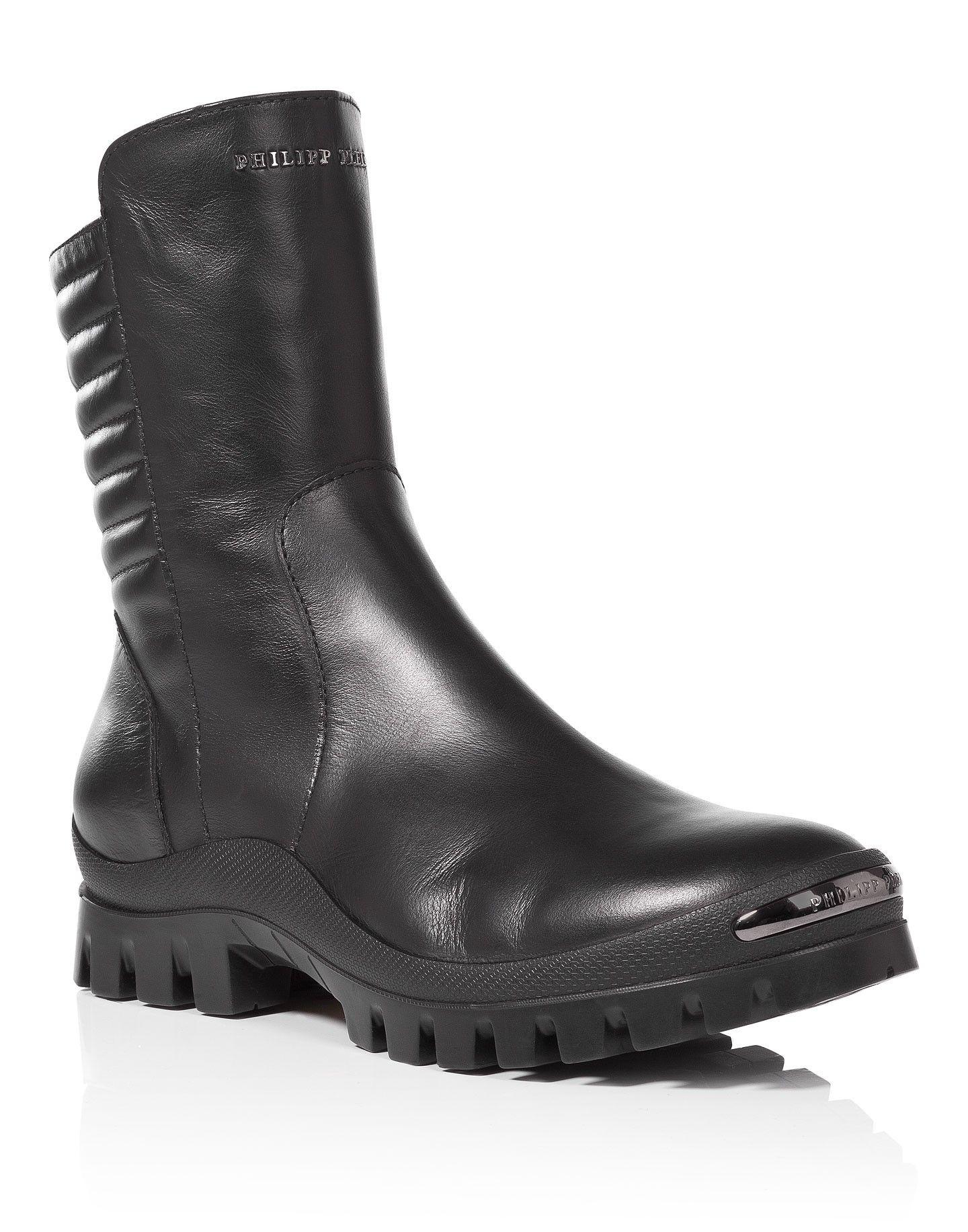 "PHILIPP PLEIN Boots ""Rude Boy"". #philippplein #shoes #"