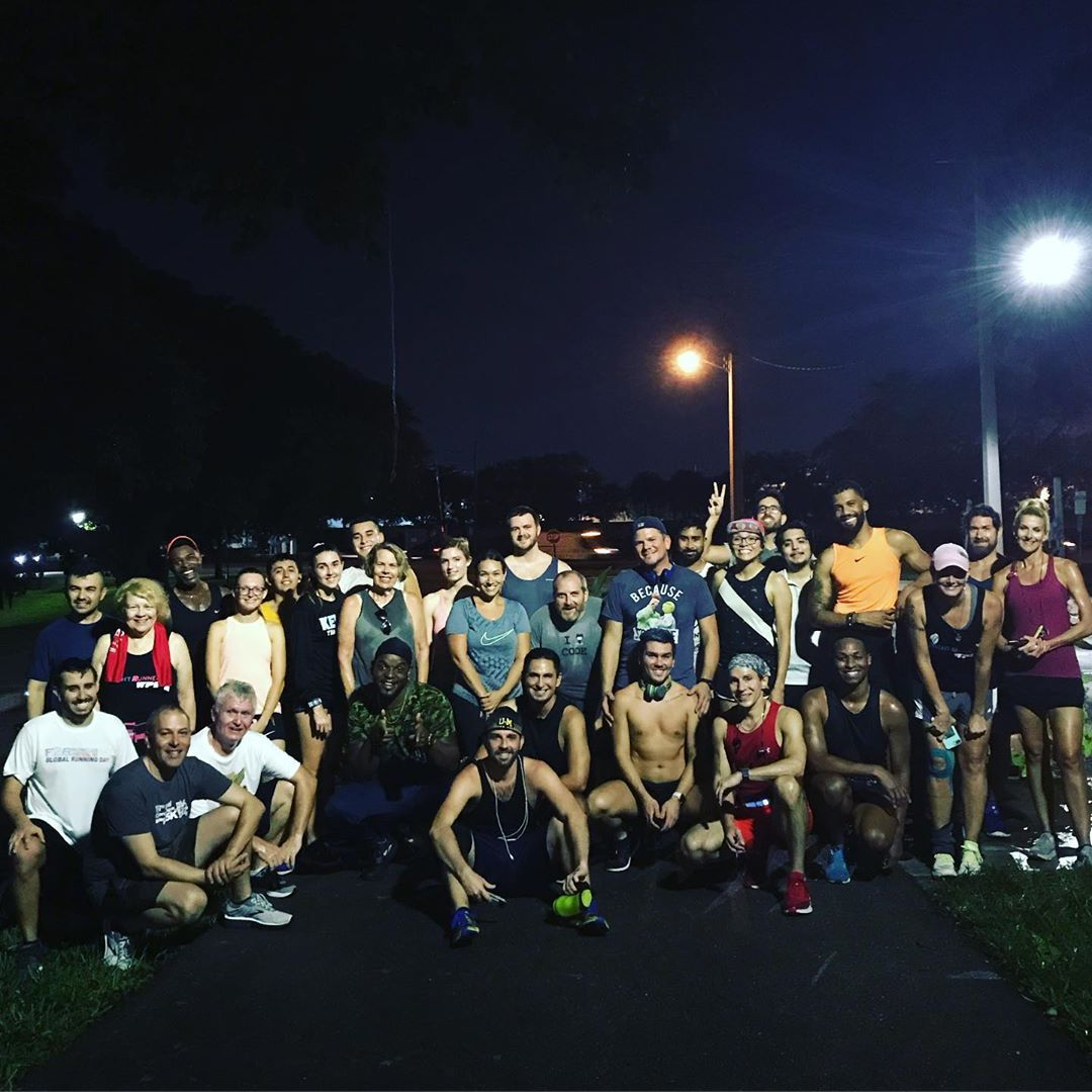 31 on the Run Tonight! Every Monday and Thursday for an Evening Run in Downtown WPB! ~~~~~~~~~~   #r...