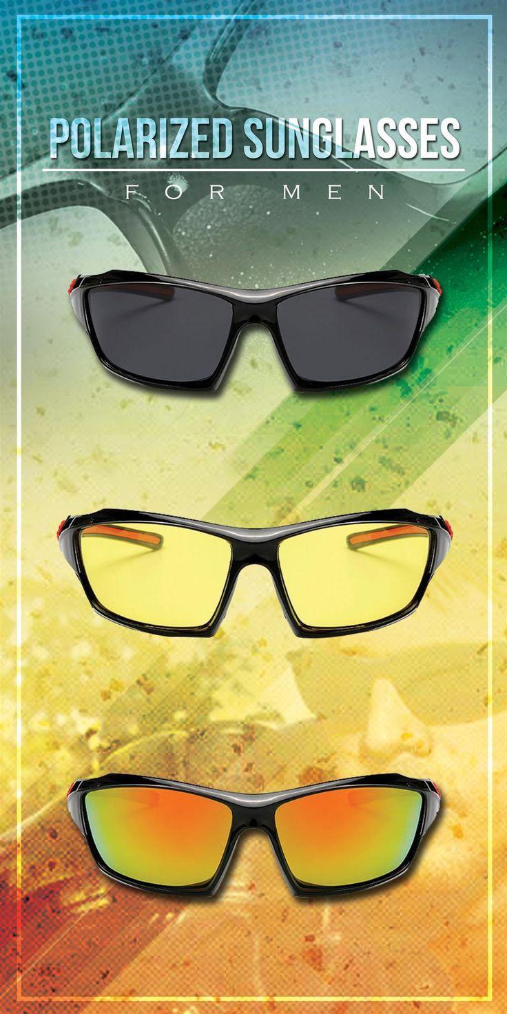 MAOLEN Polarized Driving sport sunglasses Outdoor style