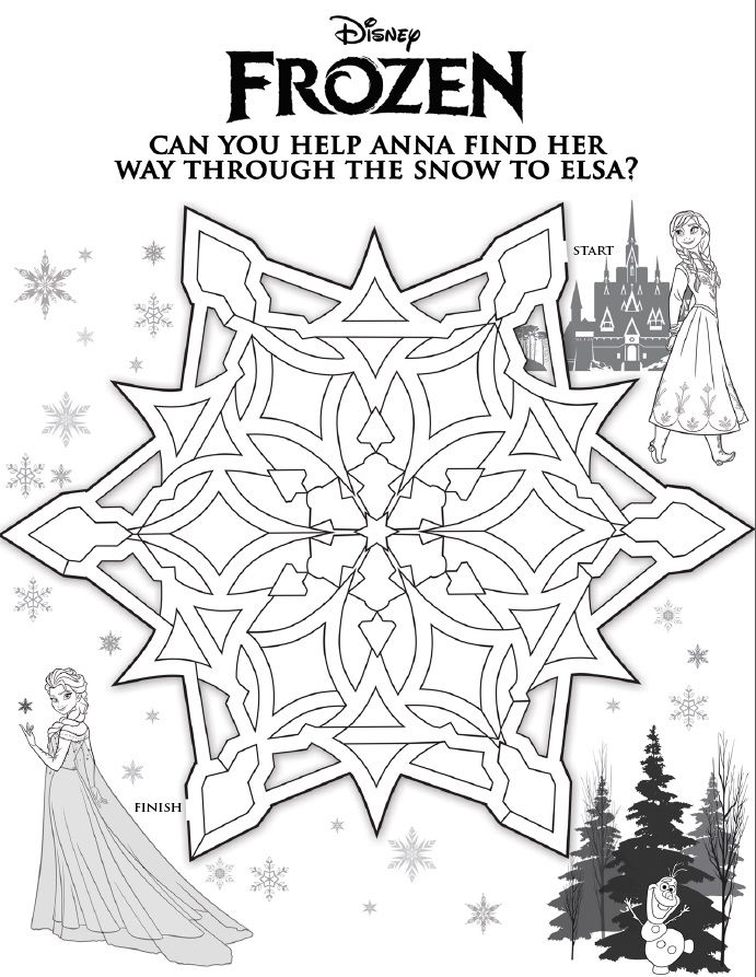 Disney\'s Frozen Printables, Coloring Pages, and Storybook App ...