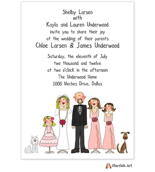 Small Family Wedding Ideas: Wedding Invitations, Unique Wedding
