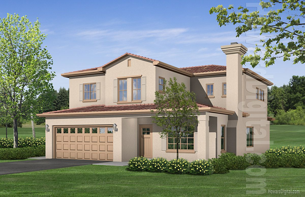 Awe Inspiring Home Home Renderings House Illustration Valero Life Group Largest Home Design Picture Inspirations Pitcheantrous